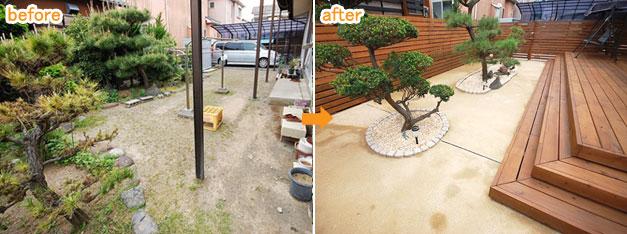防草舗装で雑草対策・雑草除去
